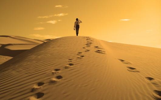 Footprints-in-the-Sand-Wallpaper-HD-6